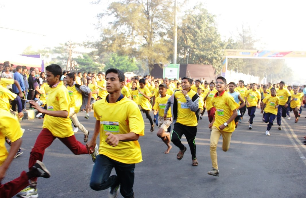 Runners at Runathon